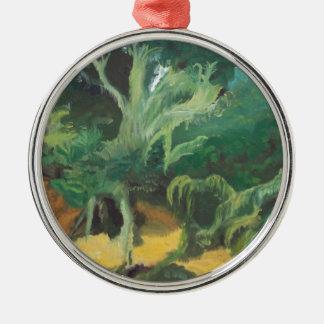 Jungle Metal Ornament