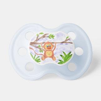 Jungle monkey pacifier