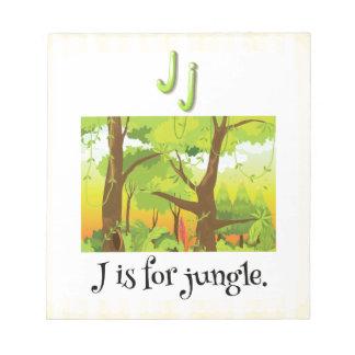 Jungle Note Pad