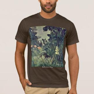 Jungle On The Equator By Rousseau Henri T-Shirt