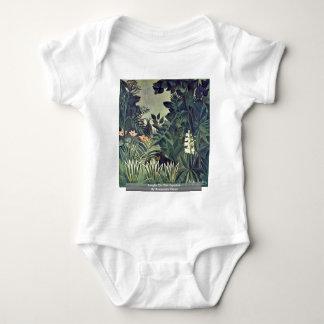 Jungle On The Equator By Rousseau Henri Shirts