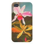 Jungle Orchid Case For iPhone 4