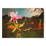 Jungle Orchid Greeting Card