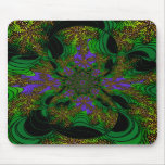 """Jungle Orchids"" ~ Abstract Art Print Mouse Mats"