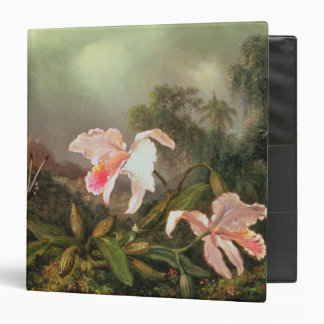 Jungle orchids and hummingbirds, 1872 binder