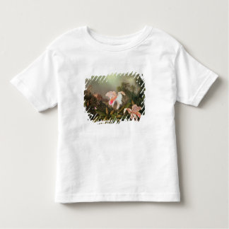 Jungle orchids and hummingbirds, 1872 toddler t-shirt