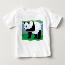 Jungle Panda Bear Baby T-Shirt