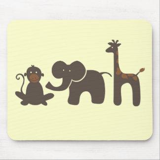 Jungle Parade Mouse Pad