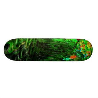"""Jungle Parrot Pool"" Skateboard"