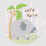 Jungle Party Stickers