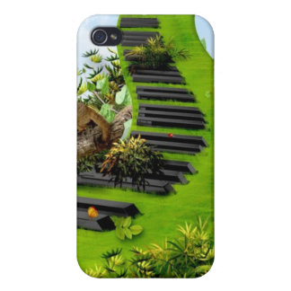 Jungle Piano iPhone 4 Covers
