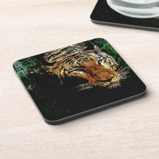 jungle predator wildlife safari animal wild tiger coaster