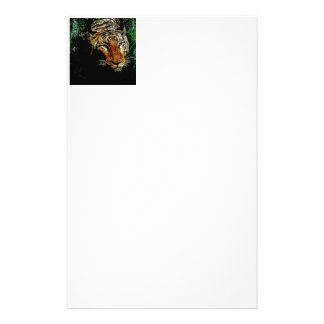 jungle predator wildlife safari animal wild tiger stationery