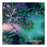 Jungle · Purple & Teal Personalized Invitation