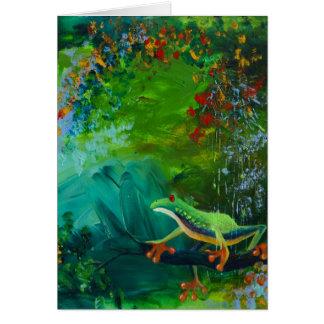 Jungle Rains II Card