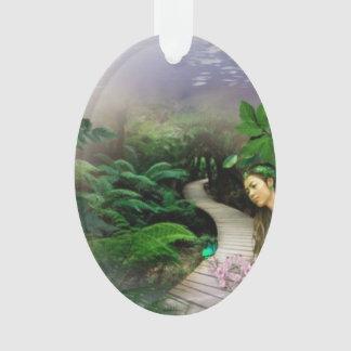 Jungle Reflection Ornament