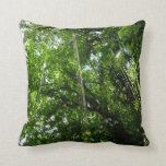Jungle Ropes Tropical Rainforest Photo Throw Pillow