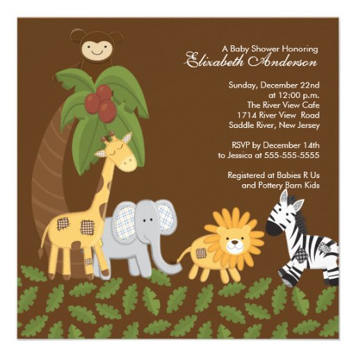 your jungle baby shower off right with our safari animals neutral baby