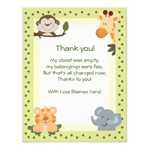 baby shower thank you cards more