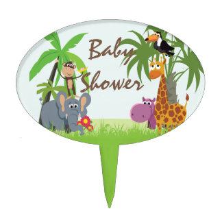 Jungle Safari Baby Shower Cake Pick