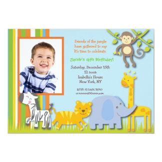 Jungle Birthday Invitations & Announcements | Zazzle