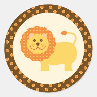 Jungle Safari Seal Sticker