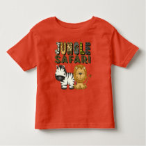 Jungle Safari unisex toddler t-shirt