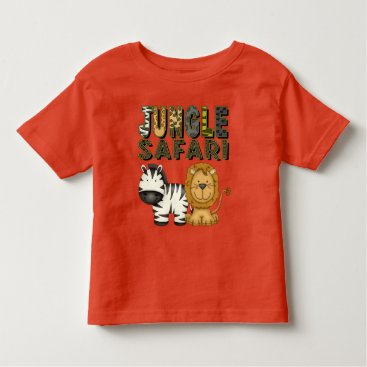 doodlesgifts Jungle Safari unisex toddler t-shirt