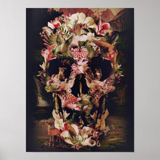 Jungle Skull Posters