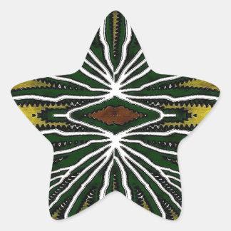 Jungle Star Sticker