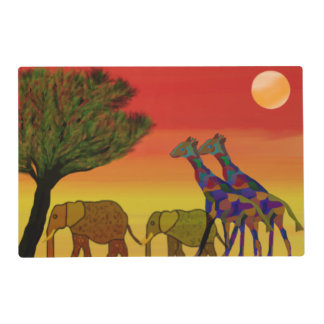 Jungle Sunset Placemat