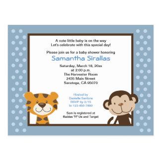 Jungle Tales Jungle Safari Baby Shower Post Card