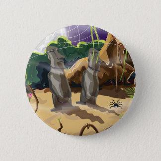 Jungle Temple Button