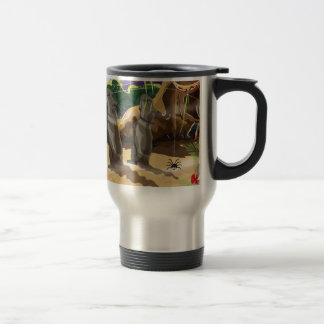 Jungle Temple Coffee Mugs