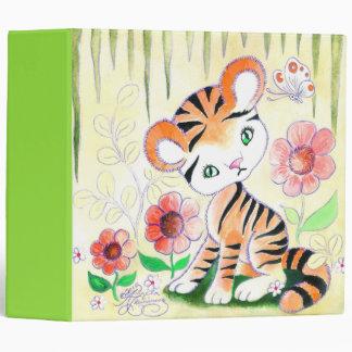 Jungle Tiger Cub 3 Ring Binders