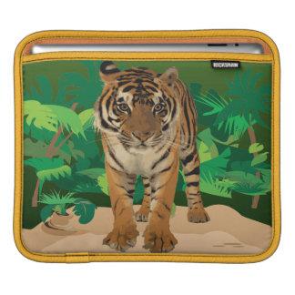Jungle Tiger Rickshaw Sleeve For iPads