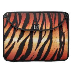 Jungle Tiger Skin Print Pattern Skins Sleeve For MacBook Pro