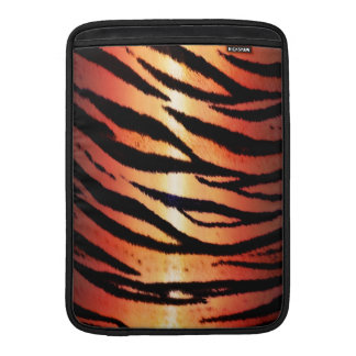 Jungle Tiger Skin Print Pattern Skins MacBook Sleeves