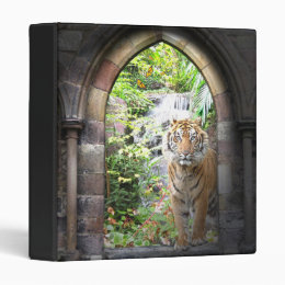 Jungle Tiger Waterfall Binder