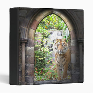 Jungle Tiger Waterfall Binder