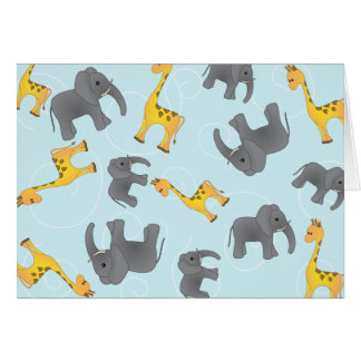 Jungle Toss Greeting Cards