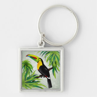 Jungle Toucan Keychain