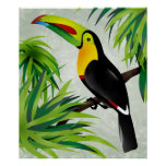 Jungle Toucan Print