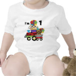 Jungle Train 1st Birthday T-shirts and Gifts