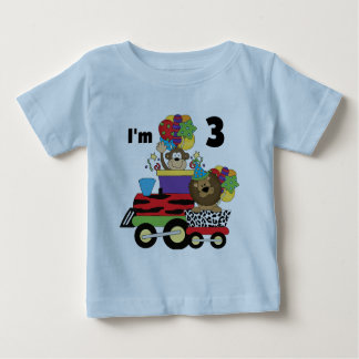 Jungle Train 3rd Birthday Tshirts and Gifts