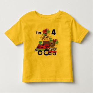 Jungle Train 4th Birthday  Tshirts and Gifts