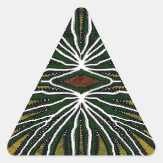 Jungle Triangle Sticker