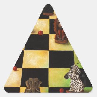 Jungle Wars Triangle Sticker