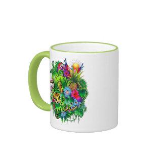 Jungle Wild Animals and Plants Mug