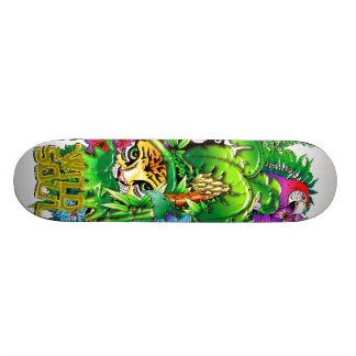 Jungle Wild Animals and Plants Skateboard